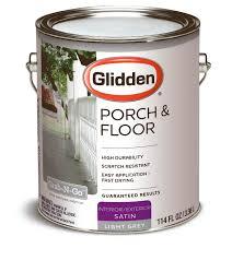 glidden porch u0026 floor paint and primer grab n go satin finish