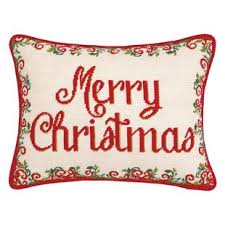 christmas needlepoint christmas needlepoint pillow wayfair
