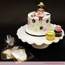 specialty cupcakes pair with your cake pink cake box custom