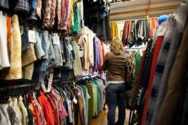 trendy boutique clothing secondhand clothes you give to charity shops sold for profits