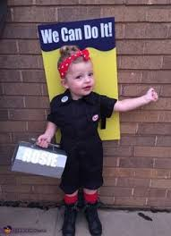 Cute Boy Halloween Costumes Rosie Riveter Toddler Halloween Costume Easy Thrifted Upcycle