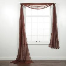 bed bath beyond floor l 41 brown scarf valance brown bears valances ivyleaguecomparecom