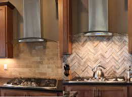 Herringbone Kitchen Backsplash Painting Kitchen Cabinets