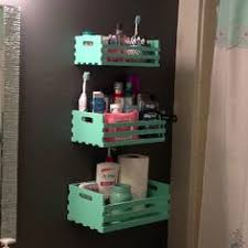 Diy Bathroom Shelving Ideas Awesome Diy Bathroom Organization Ideas Hanging Organizer