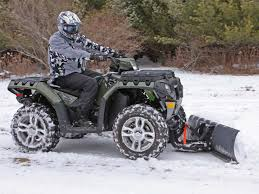 2010 polaris atv snow plow review atv illustrated