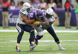 chargers vikings game photos los angeles chargers