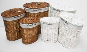 Brown And White Bathroom by Bathroom Exciting Wicker Clothes Hamper Best Laundry Clothes