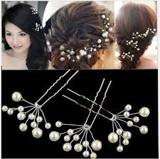 beautiful hair pins 12pcs wholesale pearl hair clip bridal wedding hair pins