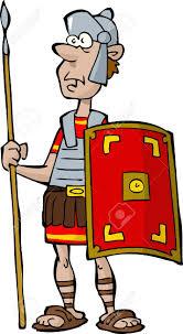 roman centurion head clipart collection