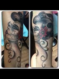 woman u0027s face tattoo by audrey mello my art pinterest face