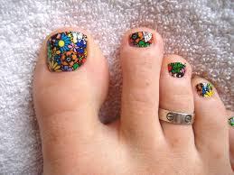 easy nail art for toes uñas decoradas con pequeñas flores flowers nail design uñas y
