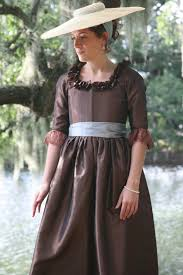 ladies u0027 1780s portrait dress pattern sense u0026 sensibility patterns