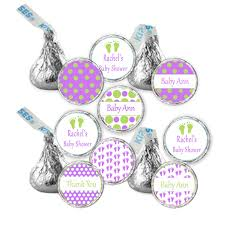 hershey kiss stickers printable personalized polka dots baby