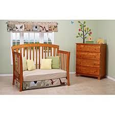Oak Convertible Crib Davinci Rowan 4 In 1 Convertible Crib In Oak Including Toddler