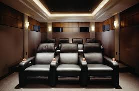Home Theatre Room Design Layout by Amazing And Cool Black White Theme Interior Decoration Ideas
