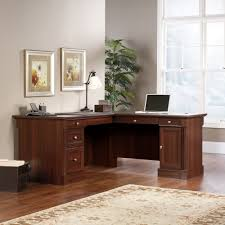 Sauder Traditional L Shaped Desk Palladia L Shaped Desk 413670 Sauder
