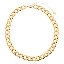 link necklace images Thick gold chain link necklace claire 39 s us jpg
