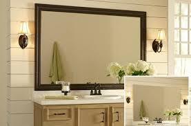 framed bathroom mirrors ideas charming bathroom mirrors of framed mirror ideas sustainablepals