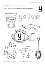 letter y phonics activities and printable teaching resources