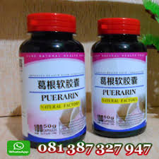 obat pembesar payudara alami super cepat puerarin capsule