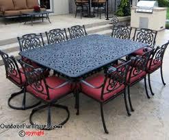 Solid Cast Aluminum Patio Furniture by Cast Aluminum Patio Furniture Outdoorfurniture1 Com Outdoor