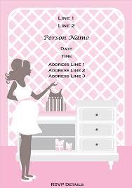 baby shower invitation free templates infoinvitation co