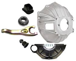 new chevy bellhousing kit cover clutch fork throwout bearing gm