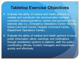 incident command table top exercises 2013 phase iii tabletop exercise ppt video online download