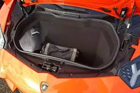 lamborghini aventador trunk what is the boot space of the lamborghini aventador