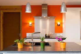 coté cuisine reims cuisine îlot dans une maison ossature bois bausmayer
