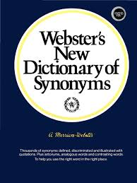 webster s new dictionary of synonyms 1984