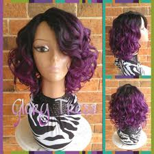 short curly bob wig ready to ship short curly bob full wig curly bob wig ombre
