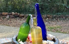 wine bottle waterfall fountain building making youtube