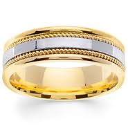two tone mens wedding bands two tone wedding bands mens womens two tone gold rings goldenmine