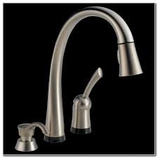 touch2o kitchen faucet delta faucet electronic touch2o kitchen faucet sink and faucet