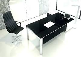 bureau laque noir bureau design noir laque bureau dangle blacky coloris noir vente de