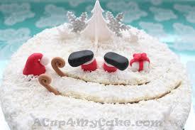 My Christmas Cake Santa U0027s Sleigh Crash Acup4mycake