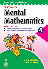 buy s chand u0027s mental mathematics for class 4 book online at low