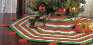 crochet your tree skirt 21 free patterns