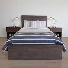 Single Bed Frame Bed Frames Affordable Contemporary Bedroom Furniture Sleeping