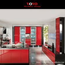 Kitchen Cabinets Made In China by Popular Kitchen Cabinet Red Gloss Buy Cheap Kitchen Cabinet Red