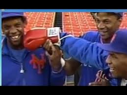 The Doc And Darryl Mets - mike tyson meets new york mets 1986 rare video youtube