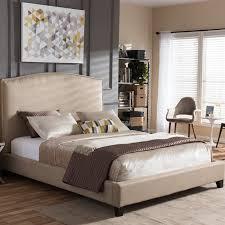 Baxton Studio Platform Bed Wholesale Interiors Baxton Studio Upholstered Platform Bed