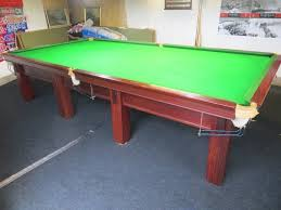 how big is a full size pool table full size snooker table with free delivery and installation in