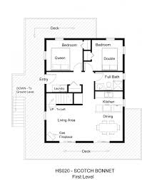 two bedroom cabin plans two bedroom for vhouse plans with cottage floor simple house