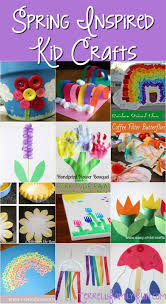 spring inspired art projects spring kid crafts