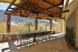 Misters For Patio by How To Improve Profits At Your Restaurant Or Bar Misting Systems