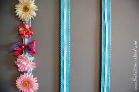bow holder how to make a hair bow holder the ribbon retreat