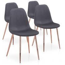 chaise capitonn e grise chaise scandinave pas cher design nordique et danois menzzo