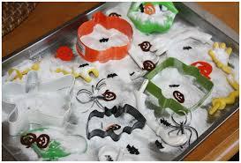 halloween cookie cutters fizzy halloween science baking soda vinegar experiment